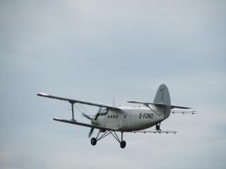 Speyer Flugshow 2011 - Doppeldecker - Flugzeug