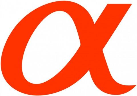 Alpha Logo von Sony