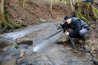 Making of Picture - fließendes Wasser