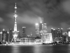 Shanghai Skyline by Night - three